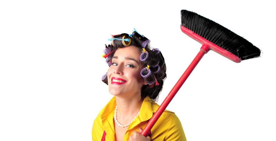 Faire le ménage, c'est sexy!