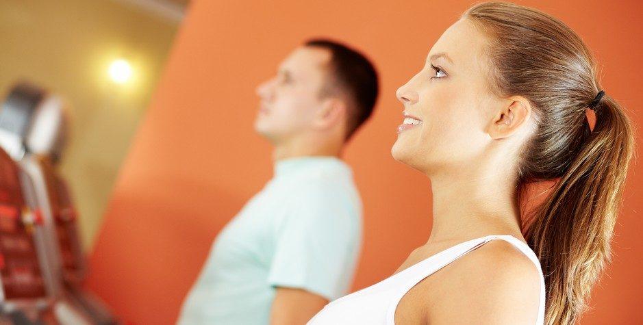 Avant de commencer l'exercice, faites évaluer votre condition physique!