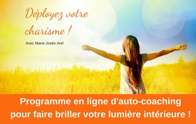 Déployez votre charisme avec Marie-Josée Arel