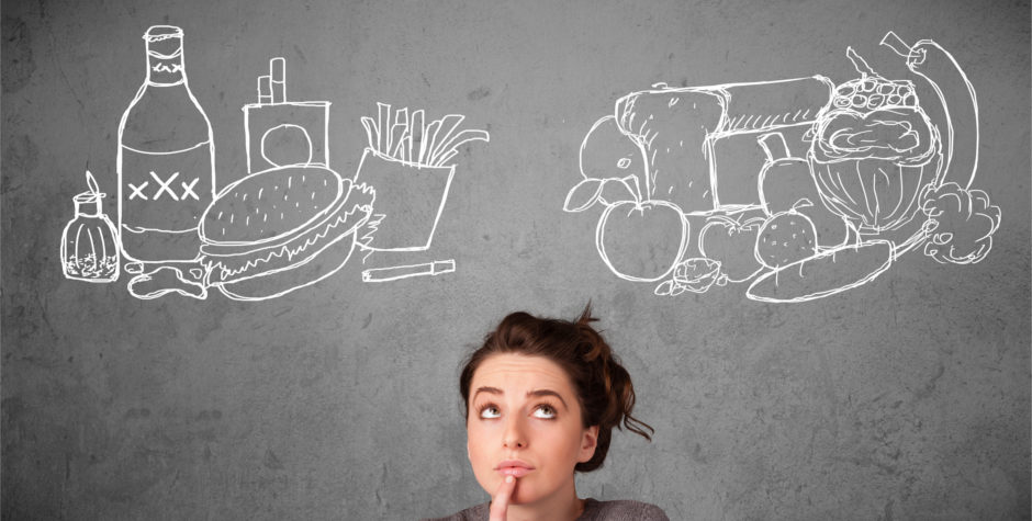 Travailler mentalement donne envie de manger davantage