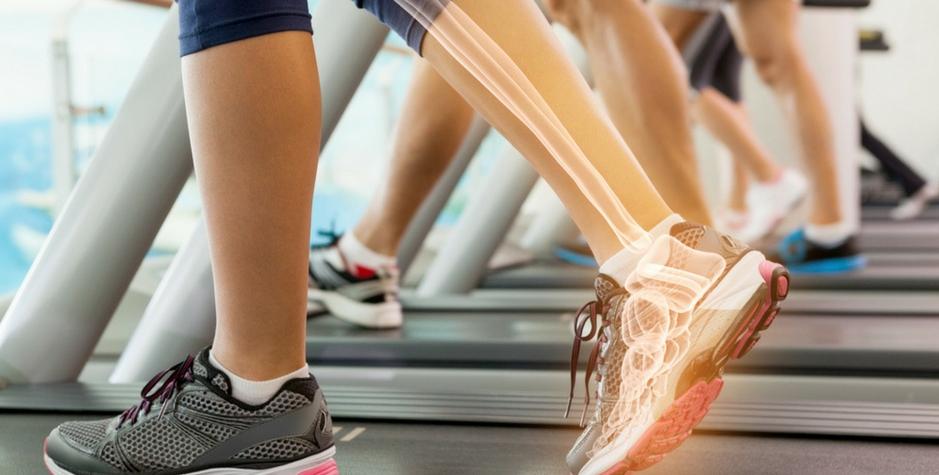 Para su salud ósea, ¡muévase en posición vertical con la mayor frecuencia posible!