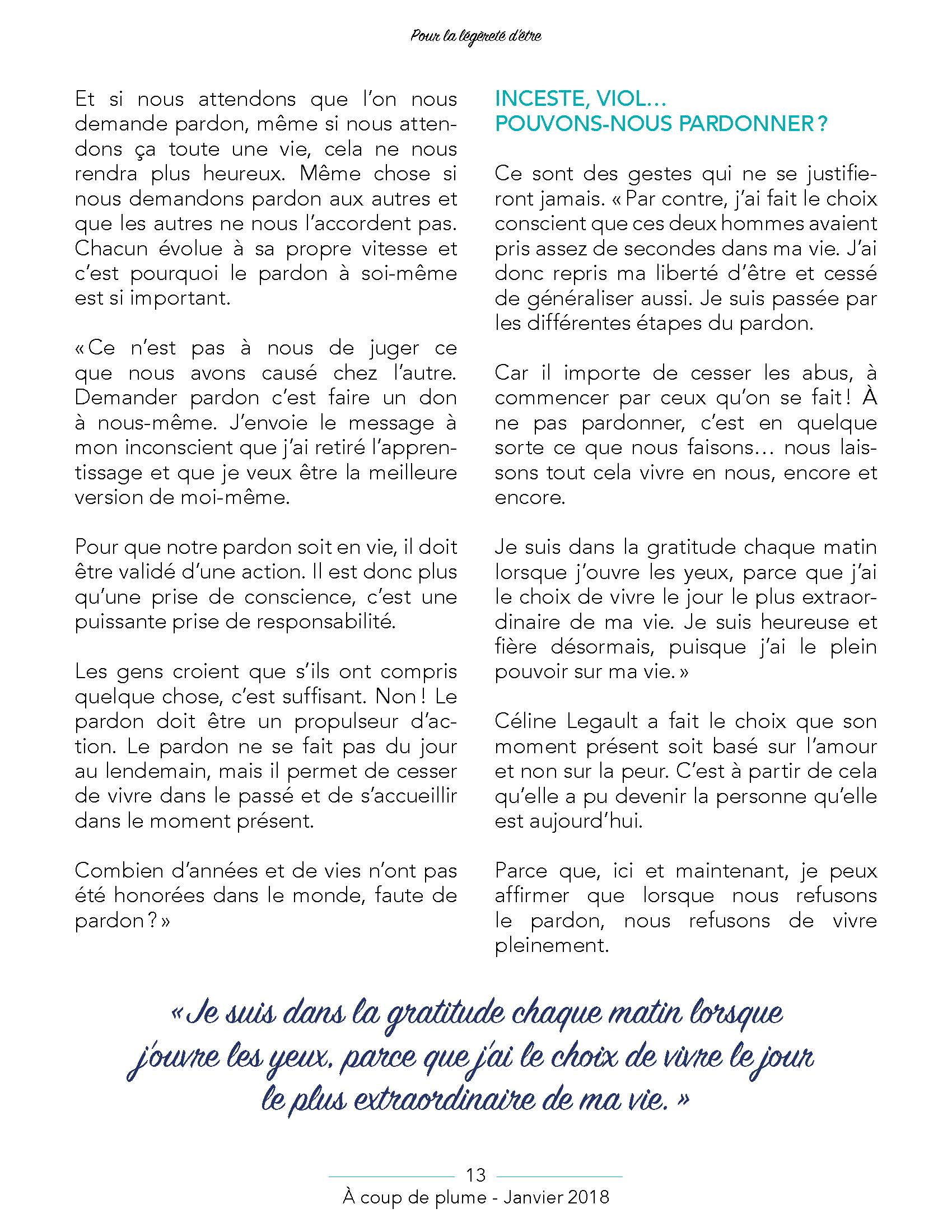 ACP - Janvier 2018 - Page 13