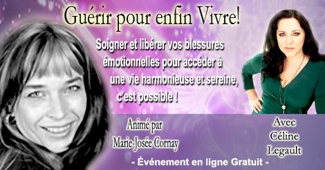 Celine-Legault - Télésommet Guérir pour enfin vivre - Marie-Josée Cornay